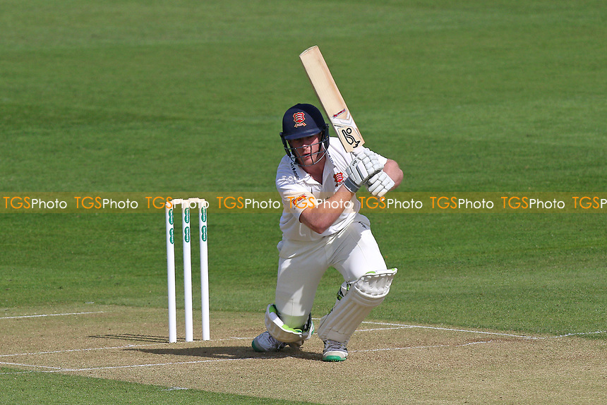 Simon Harmer in batting action for Essex during Essex CCC vs Durham MCCU, English MCC University Match Cricket at The Cloudfm County Ground on 2nd April 2017