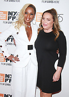 NEW YORK, NY October 12, 2017Mary J. Blige, Angie Martinez attend 55th NYFF present  premiere of Mudbound  at Alice Tully Hall in New York October 12,  2017. Credit:RW/MediaPunch