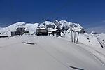 Zurserseebahn Chairlift atop Zurs Ski Areas, St Anton, Austria