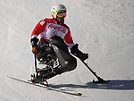 Akira Kano (JPN), <br /> MARCH 13, 2018 - Alpine Skiing : <br /> men's Super Combined  Sitting <br /> at Jeongseon Alpine Centre  <br /> during the PyeongChang 2018 Paralympics Winter Games in Pyeongchang, South Korea. <br /> (Photo by Sho Tamura/AFLO)