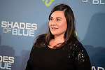 """Inma Cuevas attends to the premiere of the new series of chanel Calle 13, """"Shades of Blue"""" at Callao Cinemas in Madrid. April 05, 2016. (ALTERPHOTOS/Borja B.Hojas)"""