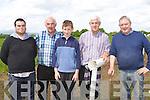 Bill Reidy, Eamon Breen, Tom O'Sullivan and John Ryan Castleisland busy at the Castleisland Races on Sunday..