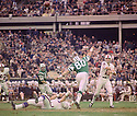 Buffalo Bills Kay Stephenson(18) during a game against the New York Jets on November 3, 1968 at Shea Stadium in Flushing, New York.  The New York Jets beat the Buffalo Bills 25-21. Kay Stephenson played for 2 season with 2 different teams.(SportPics)