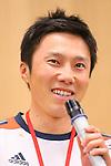 Taihei Kato, APRIL 21, 2013 : The Building up Team Japan 2013 for Sochi at Ajinomoto NTC, Tokyo, Japan. (Photo by AFLO SPORT)