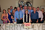 90th birthday party: Kitty Lynch (third from right front) from Ballyhorgan, Lixnaw, celebrating her 90th birthday with her Family and friends at The Listowel Arms Hotel on Saturday night last