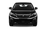 Car photography straight front view of a 2018 Peugeot 3008 Active 5 Door SUV