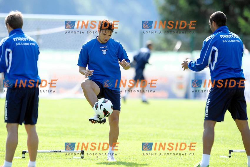 Mauro Zarate.Auronzo di Cadore 23/7/2012.Football Calcio 2012 / 2013 .Allenamento.Foto Insidefoto.