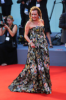 Caroline Scheufele poses on the red carpet to present the movie 'Spotlight' during the 72nd Venice Film Festival at the Palazzo Del Cinema, in Venice, September 3, 2015. <br /> UPDATE IMAGES PRESS/Stephen Richie