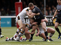 Mark Offerdahl in action for London during the Kingstone Press Championship game between London Broncos and Bradford Bulls at Ealing Trailfinders, Ealing, on Sun March 5, 2017