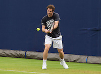 ANDY MURRAY (GBR), PRACTICE<br /> <br /> TENNIS - AEGON CHAMPIONSHIPS - QUEENS - ATP - ATP500 - CHAMPIONSHIPS-GRASS - LONDON - UNITED KINGDOM - 2016  <br /> <br /> <br /> <br /> &copy; TENNIS PHOTO NETWORK
