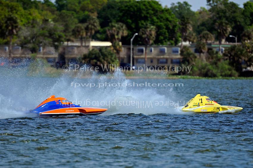 "Sean Bowsher Y-52 and Dan Kanfoush, Y-1 ""Fast Eddie Too""  (1 Litre MOD hydroplane(s)"