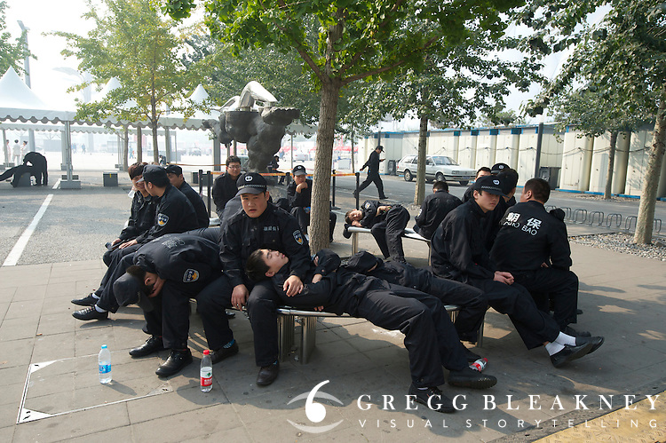 Rest break - 2011 Tour of Beijing, Stage 1 ITT
