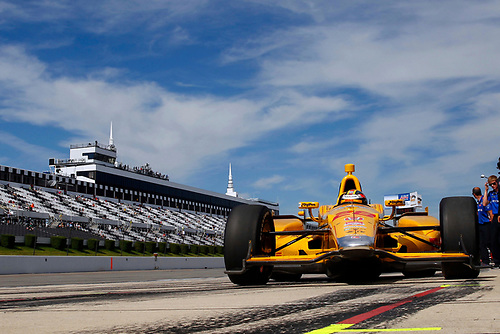22-23 August, 2015, Pocono, Pennsylvania USA<br /> Ryan Hunter-Reay<br /> ©2015, Russell LaBounty<br /> LAT Photo USA