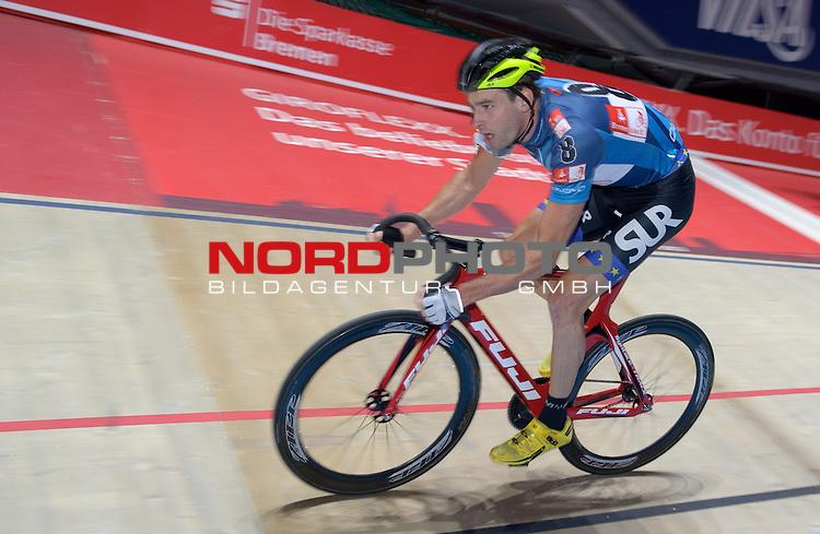 11.01.2015, &Ouml;VB Arena, Bremen, GER, Sixdays Bremen, im Bild Andreas Graf (Team Bike It #8)<br /> <br /> Foto &copy; nordphoto / Frisch