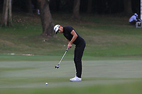 Joakim Lagergren (SWE) on the 17th green during Round 3 of the UBS Hong Kong Open, at Hong Kong golf club, Fanling, Hong Kong. 25/11/2017<br /> Picture: Golffile | Thos Caffrey<br /> <br /> <br /> All photo usage must carry mandatory copyright credit     (&copy; Golffile | Thos Caffrey)