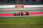 Scuderia Ferrari Mission Winnow, Charles Leclerc, takes part in the tests for the new Formula One Grand Prix season at the Circuit de Catalunya in Montmelo, Barcelona. February 19, 2020 (ALTERPHOTOS/Javier Martínez de la Puente)