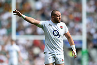 Tom Dunn of the England XV. Quilter Cup International match between England XV and the Barbarians on June 2, 2019 at Twickenham Stadium in London, England. Photo by: Patrick Khachfe / Onside Images