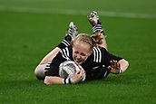 9th June 2017, Westpac Stadium, Wellington, New Zealand; International Womens Rugby; New Zealand versus Canada;  New Zealands Kendra Cocksedge scores a try