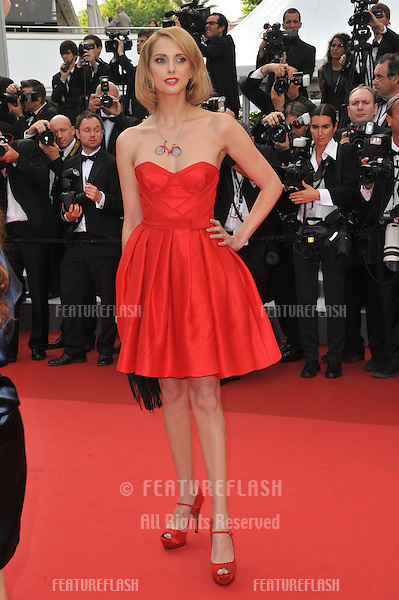 Frederique Bel at the premiere of french movie Habemus Papam at the 64th Festival de Cannes..May 13, 2011  Cannes, France.Picture: Paul Smith / Featureflash