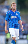St Johnstone v FC Luzern...24.07.14  Europa League 2nd Round Qualifier<br /> Scott Brown<br /> Picture by Graeme Hart.<br /> Copyright Perthshire Picture Agency<br /> Tel: 01738 623350  Mobile: 07990 594431