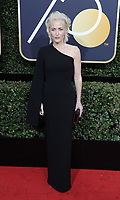 www.acepixs.com<br /> <br /> January 7 2018, LA<br /> <br /> Gillian Anderson arriving at the 75th Annual Golden Globe Awards at The Beverly Hilton Hotel on January 7, 2018 in Beverly Hills, California.<br /> <br /> By Line: Peter West/ACE Pictures<br /> <br /> <br /> ACE Pictures Inc<br /> Tel: 6467670430<br /> Email: info@acepixs.com<br /> www.acepixs.com