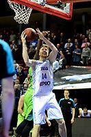 GRONINGEN - Basketbal, Donar - Dinamo Sassari, Martiniplaza, Europe Cup, seizoen 2018-2019, 12-12-2018,  Donar speler Thomas Koenes