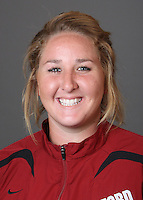 STANFORD, CA - OCTOBER 22:  Melissa Seidemann of the Stanford Cardinal during water polo picture day on October 22, 2009 in Stanford, California.