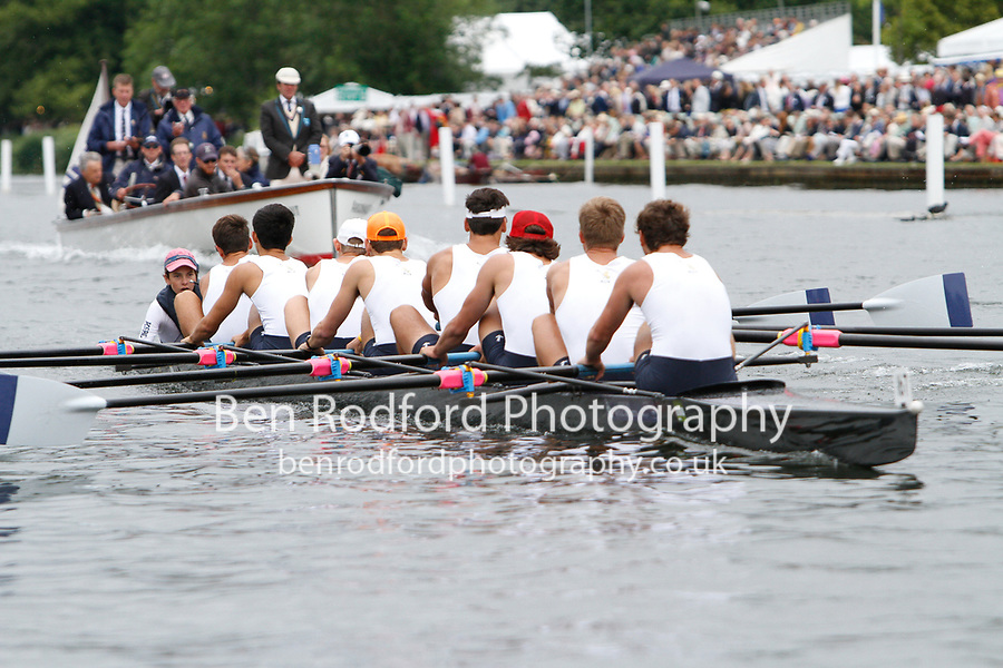 Race: 53 - Event: PE - Berks: 161 DEERFIELD ACADEMY, USA - Bucks: 167 KENT SCHOOL, USA<br /> <br /> Henley Royal Regatta 2017<br /> <br /> To purchase this photo, or to see pricing information for Prints and Downloads, click the blue 'Add to Cart' button at the top-right of the page.