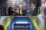 Alex McLeish, SFA President Alan McRae and Eddie Thomson from William Hill make the Scottish Cup 3rd round draw