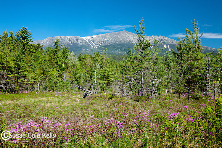 Mount Katahdin in Baxter State Park, Piscataquis County, ME