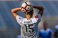 Bridgeview, IL - Sunday September 03, 2017: Jaelene Hinkle during a regular season National Women's Soccer League (NWSL) match between the Chicago Red Stars and the North Carolina Courage at Toyota Park. The Red Stars won 2-1.