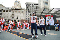 San Francisco, Ca - Saturday, Dec. 31, 2011: The 2011 Kraft Fight Hunger Bowl.
