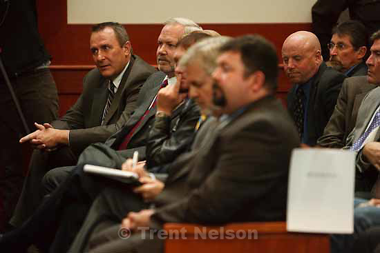 mark shurtleff, roger hoole. Attorneys for convicted polygamist leader Warren Jeffs argued their case before the Utah Supreme Court Tuesday, November 3 2009 in Salt Lake City, hoping to overturn Jeffs' 2007 conviction as an accomplice to rape.