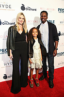 LOS ANGELES, CA - NOVEMBER 13: Brittany Perrineau, Wynter Perrineau and Harold Perrineau at People You May Know at The Pacific Theatre at The Grove in Los Angeles, California on November 13, 2017. Credit: Robin Lori/MediaPunch