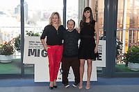 Carmen Machi, Tomas Pozzi and Carmen Ruiz pose during `Mi gran noche´ film presentation in Madrid, Spain. February 20, 2015. (ALTERPHOTOS/Victor Blanco) /NORTEphoto.com