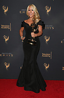 LOS ANGELES, CA - SEPTEMBER 09: Lori Greiner, at the 2017 Creative Arts Emmy Awards- Press Room at Microsoft Theater on September 9, 2017 in Los Angeles, California. <br /> CAP/MPIFS<br /> &copy;MPIFS/Capital Pictures
