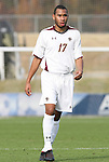 12 November 2008: Boston College's Karl Reddick. Boston College defeated Clemson University 1-0 in the second sudden-victory overtime period at Koka Booth Stadium at WakeMed Soccer Park in Cary, NC in a men's ACC tournament quarterfinal game.