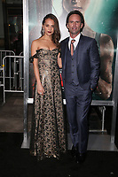 HOLLYWOOD, CA - MARCH 12: Alicia Vikander, Walton Goggins, at The US premiere of Tomb Raider at the TCL Chinese Theatre in Hollywood, California on March 12, 2018. Credit: Faye Sadou/MediaPunch<br /> CAP/MPIFS<br /> &copy;MPIFS/Capital Pictures