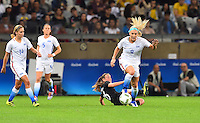 Belo Horizonte, Brazil - Wednesday, August 3, 2016: The USWNT go up 1-0 over New Zealand in first half action in Group G play during the 2016 Olympics at Mineirão stadium.