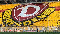 Fussball, 2. Bundesliga, Saison 2011/12, SG Dynamo Dresden - FC Erzgebirge Aue, Sonntag (21.11.11), gluecksgas Stadion, Dresden. Dynamo Fans.
