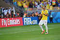 Neymar (BRA), JUNE 28, 2014 - Football / Soccer : Neymar of Brazil celebrates scoring penalty shoot out during the FIFA World Cup Brazil 2014 round of 16 match between Brazil and Chile at Estadio Mineirao in Belo Horizonte, Brazil. (Photo by FAR EAST PRESS/AFLO)