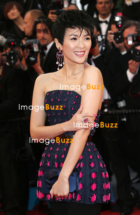 CPE/Zhang Ziyi attends the Opening Ceremony and 'The Great Gatsby' Premiere during the 66th Annual Cannes Film Festival at the Theatre Lumiere on May 15, 2013 in Cannes, France.