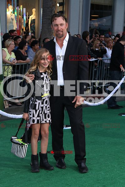 HOLLYWOOD, CA - MAY 6:  Mark Kotsay at the Premiere Of Disney's 'Million Dollar Arm'  on May 6, 2014 at El Capitan Theatre in Hollywood, California. Credit: SP1/Starlitepics /nortephoto.com