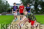 CBS The Green , get ready for the upcoming CBS 5k Family Fun Run, Taking place on Sunday, September 25, at 1pm raising funds for the Astro-Turf Project. Pictured Pictured were l-r  Matt Healy, Cian Hickey, Adam O'Keeffe and Luke McCaffrey
