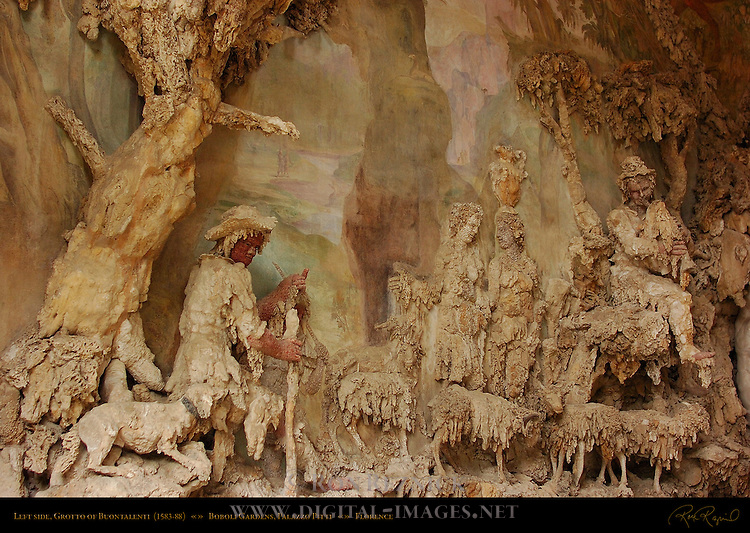 Grotto of Buontalenti Outer Grotto Left Palazzo Pitti Florence