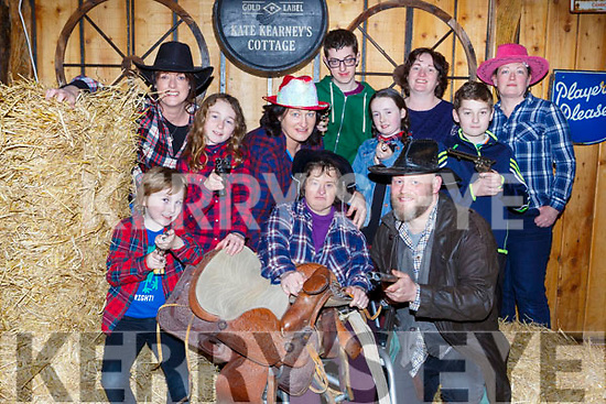 Launching the  Barndance which will be held in Kate Kearneys on March 17th in aid of the Buy A Bus campaign are front row l-r: James Rooney, Avril Rooney, Mairead Casey, Sean Coffey. Back row: Ciara Roche, Agnes rooney, Michael Casey, Kayla Roche, Breda Casey, Padraig Casey, Fiona O'Leary
