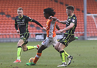 Blackpool's Sessi D'Almeida gets a shot on goal<br /> <br /> Photographer Mick Walker/CameraSport<br /> <br /> The EFL Sky Bet League One - Blackpool v Bristol Rovers - Saturday 13th January 2018 - Bloomfield Road - Blackpool<br /> <br /> World Copyright &copy; 2018 CameraSport. All rights reserved. 43 Linden Ave. Countesthorpe. Leicester. England. LE8 5PG - Tel: +44 (0) 116 277 4147 - admin@camerasport.com - www.camerasport.com