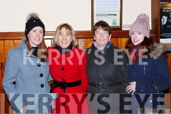 Tara Cardan Killorglin, Eileen Cardan Rathmore, Margaret and Orlaith Murphy Barradubh at the Tommy Fleming concert in the Killarney Friary on Thursday night