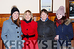 Tara Cardan Killorglin, Eileen Cardan Rathmore, Margaret and Orlaith Murphy Barradubh at the Tommy Fleming concert in the Killarney Friary on Thursday night
