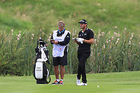 Chris Hanson (ENG) on the 3rd fairway during Round 2 of the 100th Open de France, played at Le Golf National, Guyancourt, Paris, France. 01/07/2016. <br /> Picture: Thos Caffrey | Golffile<br /> <br /> All photos usage must carry mandatory copyright credit   (&copy; Golffile | Thos Caffrey)